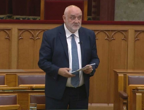 Parlamenti felszólalás 2018. június 28