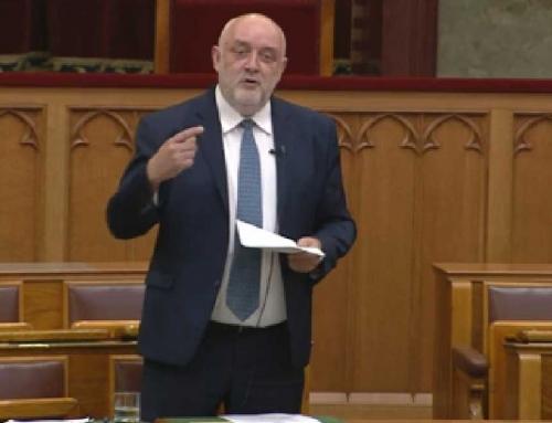 Parlamenti felszólalás 2018. június 28-kétperces felszólalás