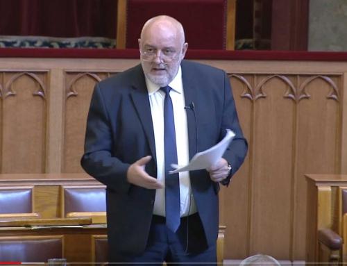 Parlamenti felszólalás 2018. október 17