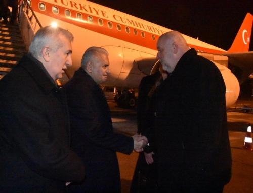 Török házelnök magyarországi látogatása