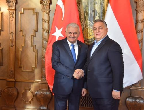 A török házelnök fogadása