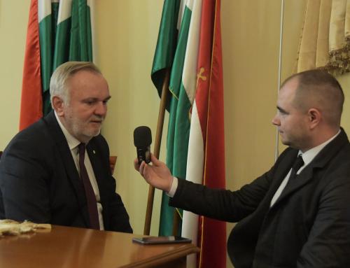 Találkozó és megbeszélés a kárpátaljai magyar érdekvédelmi szervezetek vezetőivel Br…