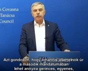 """""""Méltó elismerést kérünk Tőkés Lászlónak"""" megtekintése"""