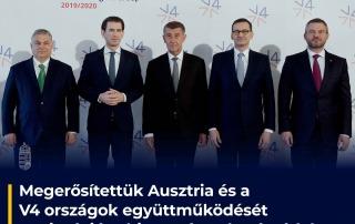 Orbán Viktor részvételével egyeztettek a visegrádi országok miniszterelnökei az oszt…