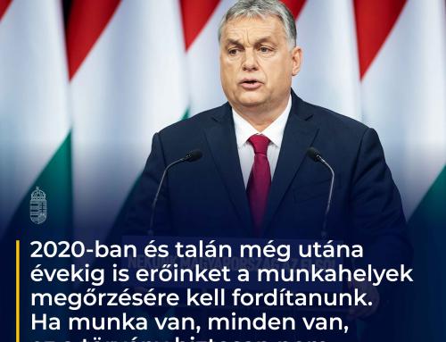 2020-ban és talán még utána évekig is erőinket a munkahelyek megőrzésére kell fordít…