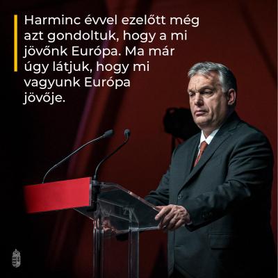 Harminc évvel ezelőtt még azt gondoltuk, hogy a mi jövőnk Európa. Ma már úgy látjuk,…